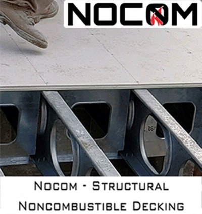 NOCOM noncombustible structural decking.